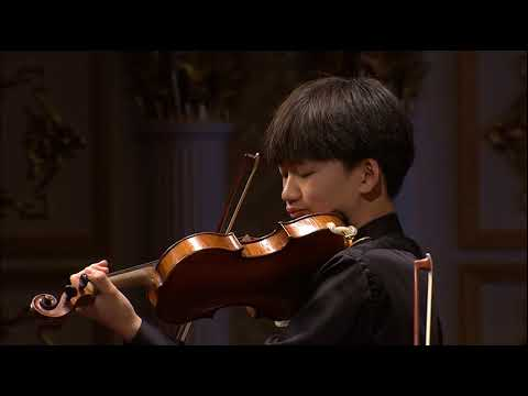 Shihan Wang | Mozart Violin Concerto No. 3 | 2017 Zhuhai International Violin Comp | 1st Prize