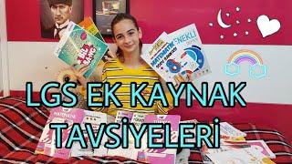 LGS EK KAYNAK TAVSİYELERİ - Bu videoyu izlemeden test kitabı almayın!