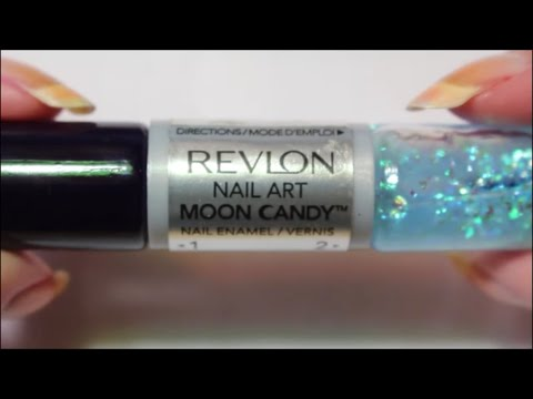 Revlon Moon Candy Nail Art How To!! - YouTube