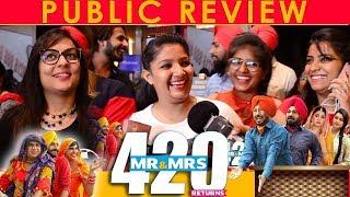 Without Cut   PUBLIC REVIEW   Mr & Mrs 420 Returns   Ranjit Bawa   Karamjit Anmol