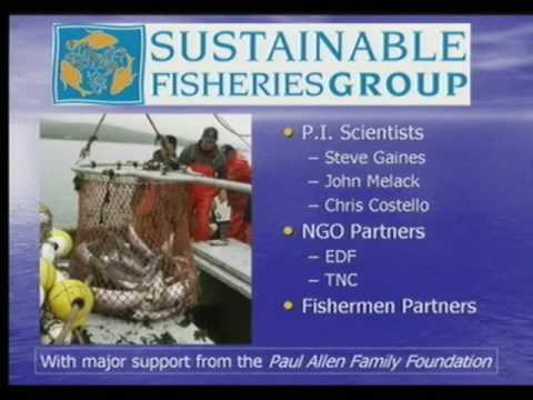 Profitability Can Drive Sustainable Fisheries by Chris Costello