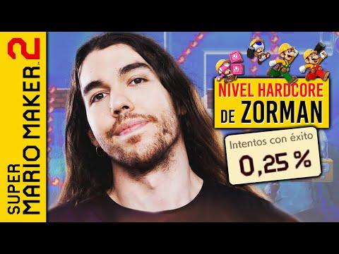ZORMAN, eres un C#@ @¬. Me paso su NIVEL HARDCORE en SUPER MARIO MAKER 2