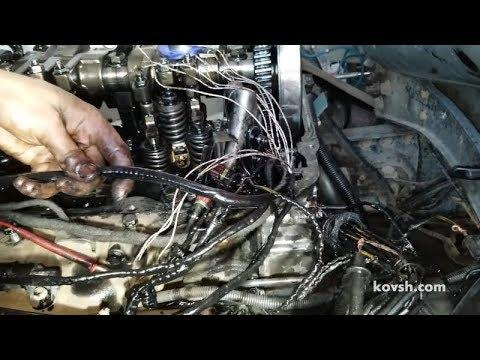 Неисправность и замена проводки на насос-форсунки Renault Premium 440 10.8d DXI11