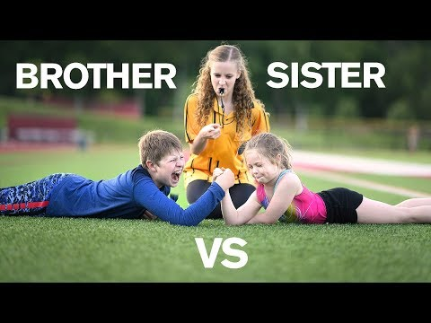 BROTHER vs SISTER Strength Challenge