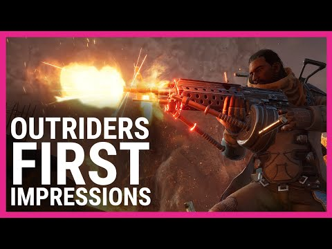 Outriders Demo first impressions