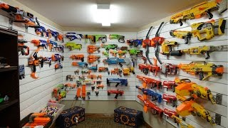 THE BEST NERF ARSENAL EVER!