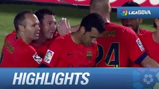 Highlights Levante UD (0-5) FC Barcelona - HD