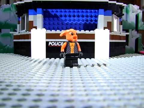 LEGO Space Police test animation