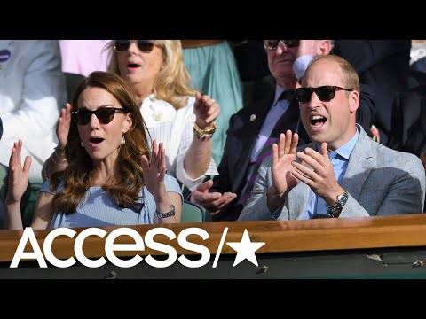 Prince William And Kate Middleton Went Through All The Emotions Watching The Wimbledon Men's Final