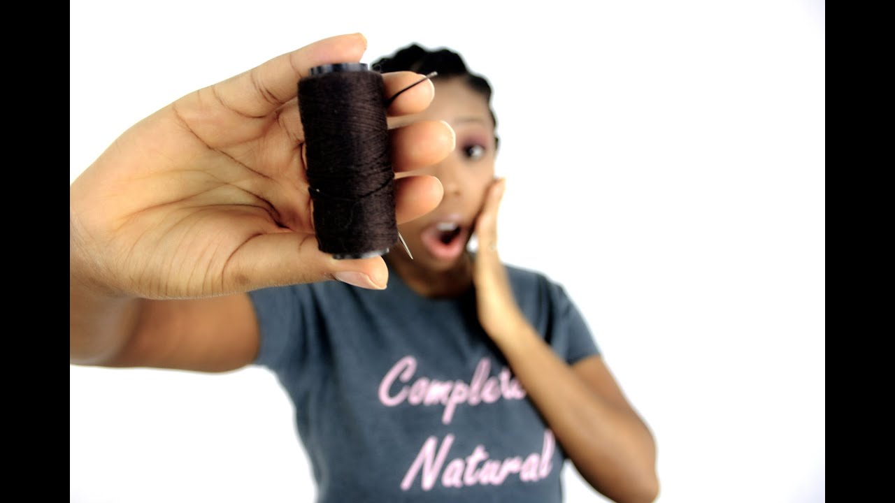 Do sew in weaves damage your natural hair youtube pmusecretfo Choice Image