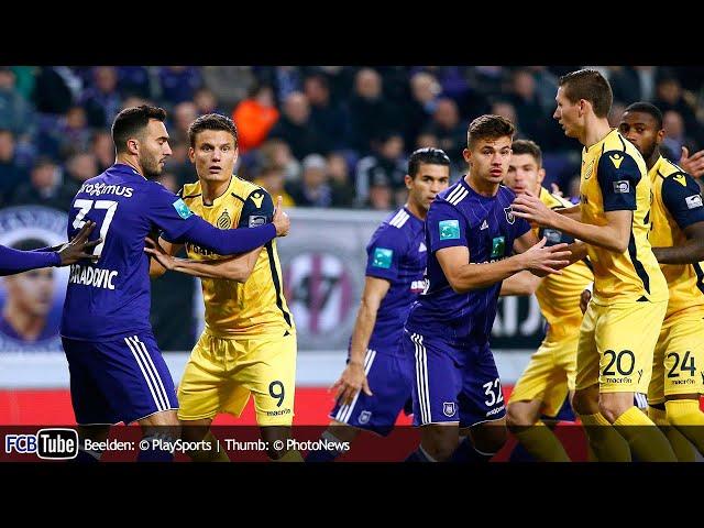 2017-2018 - Jupiler Pro League - 14. RSC Anderlecht - Club Brugge 0-0