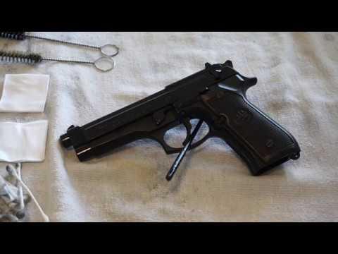 Beretta 92FS how to clean.