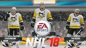 NHL 18 Beta AI Gameplay