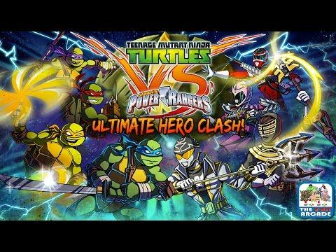 Teenage Mutant Ninja Turtles VS Power Rangers: Ultimate Hero Clash (Gameplay, Playthrough)