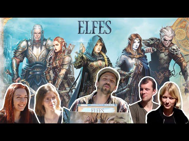 Elfes, le jeu de rôle : La partie d'initiation