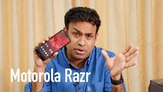 Motorola Razr Unboxing & Overview