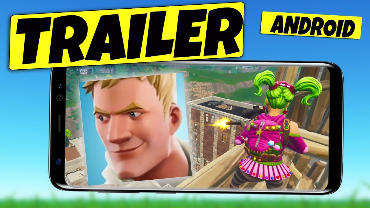 Fortnite Mobile ANDROID Release Trailer - YouTube
