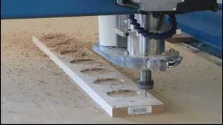 Cnc Double Sided Wood Maching