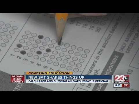 New SAT good for students