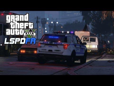GTA V - LSPDFR 0.4.4 - NYPD Patrol EUP