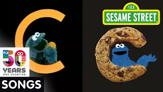Sesame Street: C is for Cookie Side by Side | #Sesame50