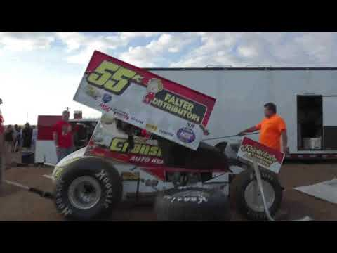 Taking a pit walk during the All Star show at Williams Grove Speedway