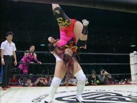 K. Inoue, T. Inoue & Hotta (AJW) vs Kazama, Saito & Sawai (LLPW)