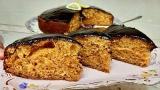 Медово -Лимонный пирог,самый мягкий и вкусный-Ани Кухня!