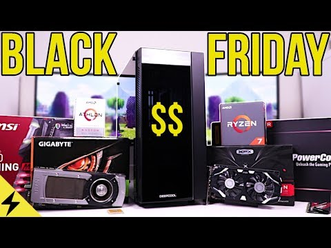 Best Black Friday GAMING PC Build Guide - Tech Deals Galore!!