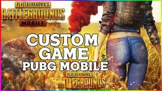 CUSTOM ROOM PRO YOUTUBER PUBG MOBILE #PUBGM #PKGAMER
