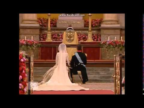 The Royal Wedding Ceremony of Prince Frederik and Mary Donaldson 2004