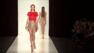 sveta legun on the maria golubeva fashion show ss2013 mercedes benz fashion week wmv