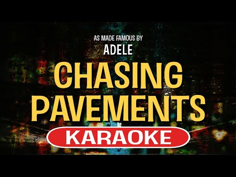 Chasing Pavements - Adele | Karaoke Version