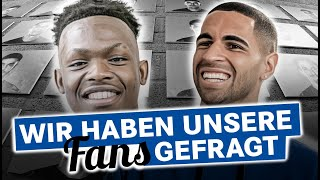 We Asked Our Fans | Rabbi Matondo | Omar Mascarell | FC Schalke 04