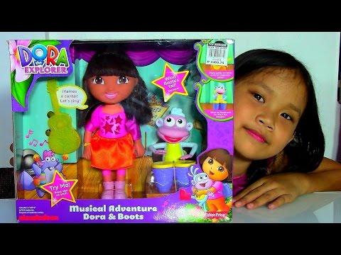 Dora the Explorer Musical Adventure Dora & Boots Dolls Playset - Kids' Toys