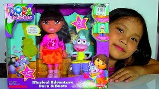 Dora the Explorer Musical Adventure Dora u0026 Boots Dolls Playset - Kids' Toys