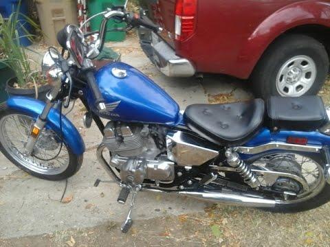 new motorcycle! 1986 honda rebel 250! - youtube
