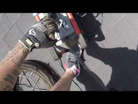 HOW TO SNAKE A SEWER MAIN FROM A ROOF VENT - PHOENIX, AZ