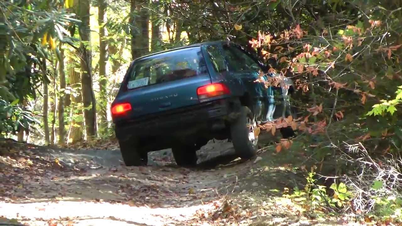 Subaru impreza off road youtube vanachro Gallery