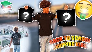 LIT BACK TO SCHOOL SHOPPING VLOG 2018!🤘🏽🔥 || (WHAT DID I GET!?)😱