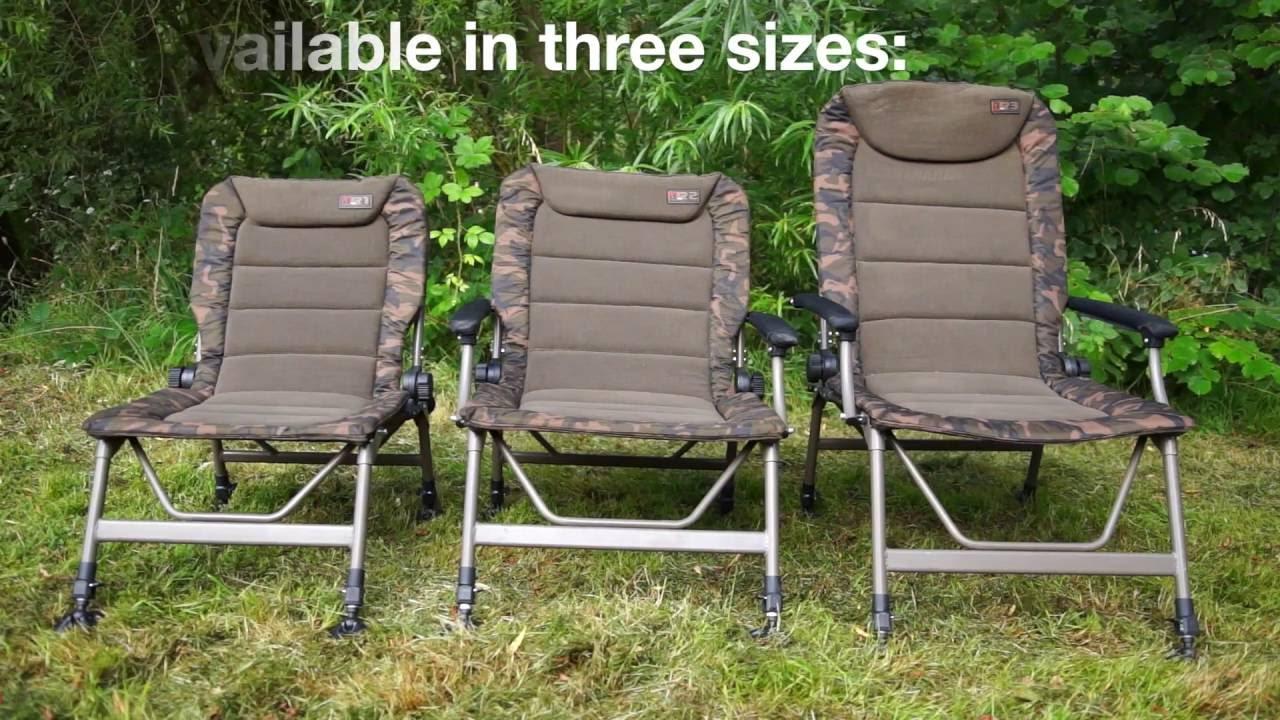 ***CARP FISHING TV*** R Series Camo Chairs