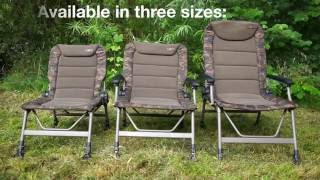 ***CARP FISHING TV*** R Series Camo Chairs