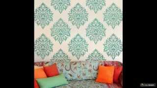 видео Изготовление трафаретов для стен под покраску своими руками