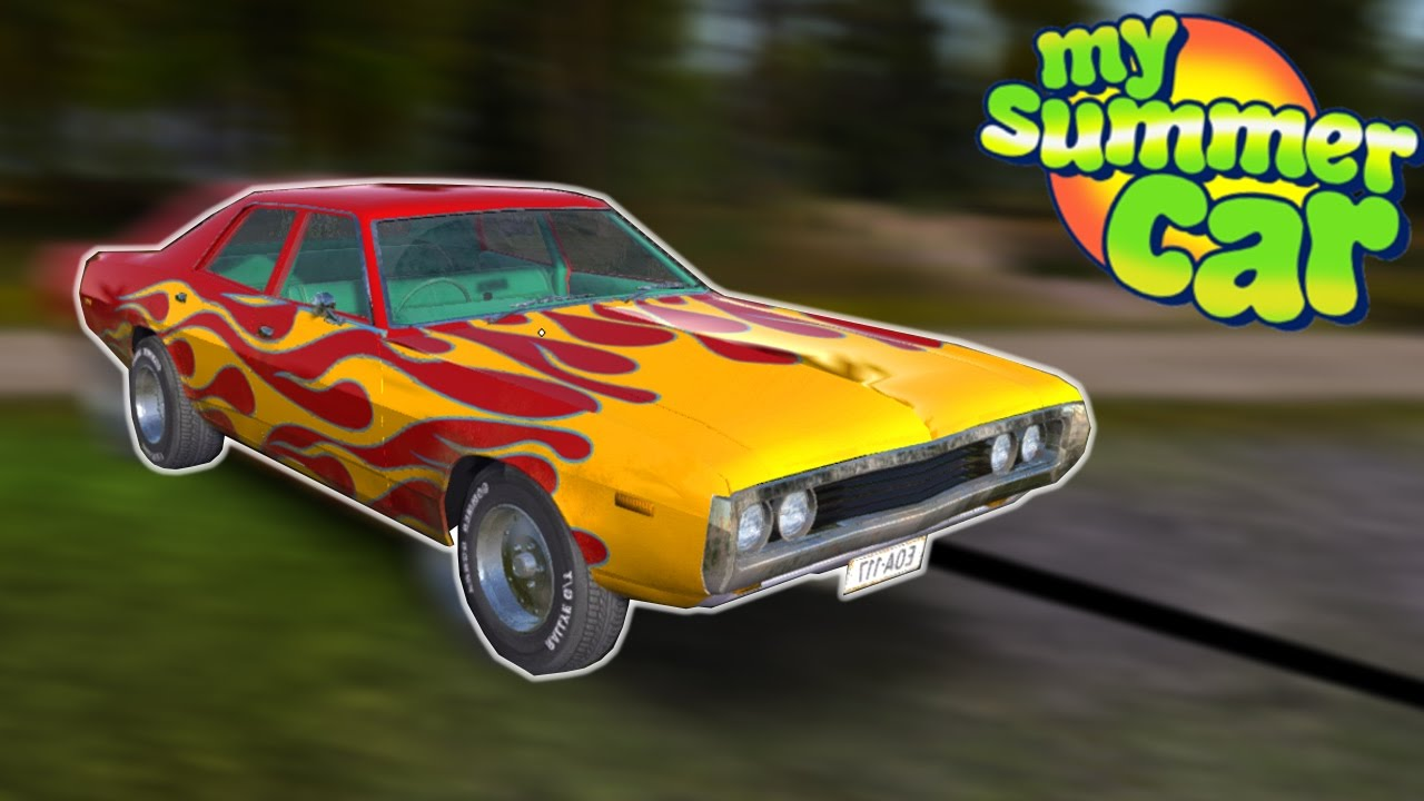 FINN STEALS MUSCLE CAR - My Summer Car #3 - Grand Theft Towing - YouTube