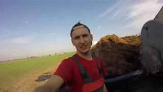 Podwórkowy Vlog #72 Zmagania z gnojowicą / Kubota M6060