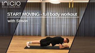 start moving  - full body workout