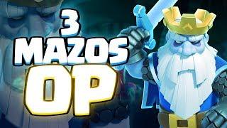TRES BUENOS MAZOS CON FANTASMA | Clash Royale