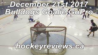 December 21st 2017 Bulldogs Embarrassing x2 Hockey Goalie GoPro