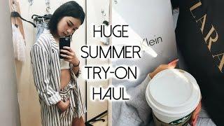 TRY-ON CLOTHING HAUL | ZARA, MANGO, BERSHKA & MORE!