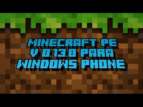 Minecraft PE 0.13.0 para Windows Phone